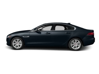 Dark Sapphire Metallic 2017 Jaguar XF Pictures XF Sedan 4D 35t Premium V6 Supercharged photos side view