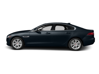 Dark Sapphire Metallic 2017 Jaguar XF Pictures XF Sedan 4D 35t Premium AWD V6 Sprchrd photos side view