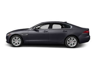 Tempest Gray 2017 Jaguar XF Pictures XF Sedan 4D 35t Premium AWD V6 Sprchrd photos side view