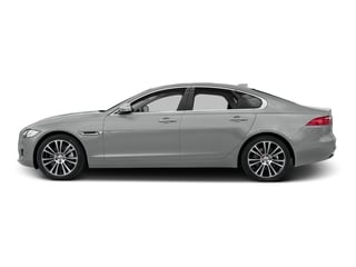 Rhodium Silver Metallic 2017 Jaguar XF Pictures XF 35t Prestige AWD photos side view