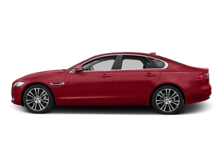Italian Racing Red Metallic 2017 Jaguar XF Pictures XF 35t Prestige AWD photos side view