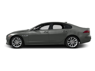 Ammonite Gray Metallic 2017 Jaguar XF Pictures XF Sedan 4D 35t R-Sport V6 Supercharged photos side view