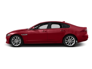 Italian Racing Red Metallic 2017 Jaguar XF Pictures XF Sedan 4D 35t R-Sport V6 Supercharged photos side view