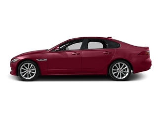 Odyssey Red Metallic 2017 Jaguar XF Pictures XF Sedan 4D 35t R-Sport V6 Supercharged photos side view