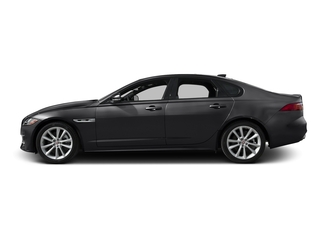 Ebony 2017 Jaguar XF Pictures XF Sedan 4D 35t R-Sport V6 Supercharged photos side view