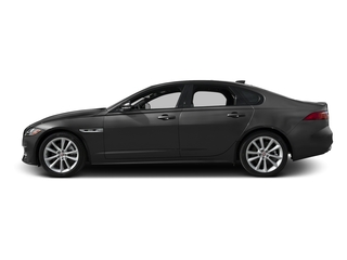 Storm Gray 2017 Jaguar XF Pictures XF Sedan 4D 35t R-Sport V6 Supercharged photos side view