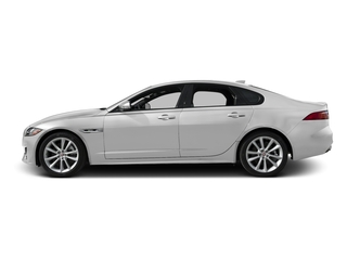Gallum Silver 2017 Jaguar XF Pictures XF Sedan 4D 35t R-Sport V6 Supercharged photos side view