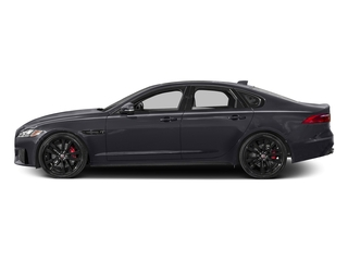 Tempest Gray 2017 Jaguar XF Pictures XF Sedan 4D S AWD V6 Supercharged photos side view