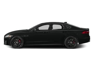 Cosmic Black 2017 Jaguar XF Pictures XF Sedan 4D S AWD V6 Supercharged photos side view