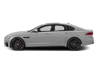 Gallum Silver 2017 Jaguar XF Pictures XF Sedan 4D S AWD V6 Supercharged photos side view