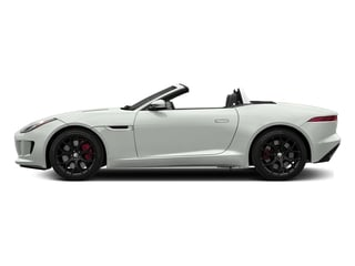 Polaris White 2017 Jaguar F-TYPE Pictures F-TYPE Convertible Manual S photos side view