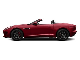 Italian Racing Red Metallic 2017 Jaguar F-TYPE Pictures F-TYPE Convertible Manual S photos side view