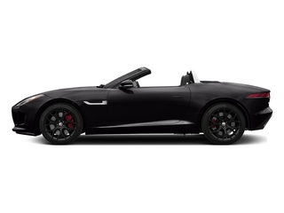 Ultimate Black Metallic 2017 Jaguar F-TYPE Pictures F-TYPE Convertible Manual S photos side view