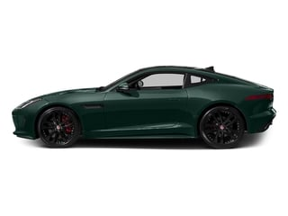 British Racing Green Metallic 2017 Jaguar F-TYPE Pictures F-TYPE Coupe 2D S V6 photos side view