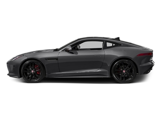 Storm Grey 2017 Jaguar F-TYPE Pictures F-TYPE Coupe 2D S V6 photos side view