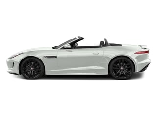 Polaris White 2017 Jaguar F-TYPE Pictures F-TYPE Convertible 2D S AWD V6 photos side view