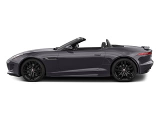 Black Berry 2017 Jaguar F-TYPE Pictures F-TYPE Convertible 2D S AWD V6 photos side view