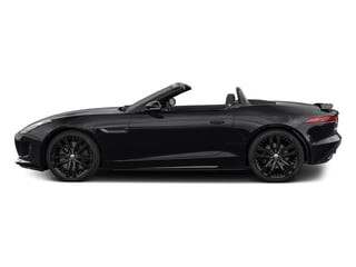 Ebony Black 2017 Jaguar F-TYPE Pictures F-TYPE Convertible 2D S AWD V6 photos side view