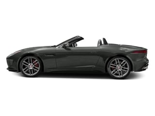 Ammonite Grey Metallic 2017 Jaguar F-TYPE Pictures F-TYPE Convertible 2D R AWD V8 photos side view