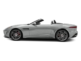 Rhodium Silver Metallic 2017 Jaguar F-TYPE Pictures F-TYPE Convertible 2D R AWD V8 photos side view