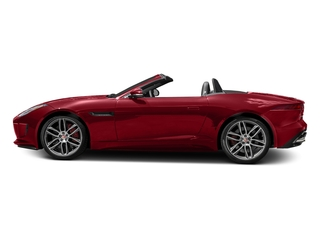 Italian Racing Red Metallic 2017 Jaguar F-TYPE Pictures F-TYPE Convertible 2D R AWD V8 photos side view