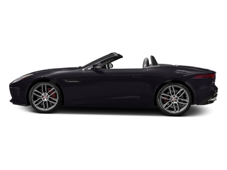Black Berry 2017 Jaguar F-TYPE Pictures F-TYPE Convertible 2D R AWD V8 photos side view
