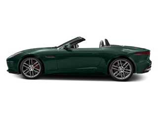 British Racing Green Metallic 2017 Jaguar F-TYPE Pictures F-TYPE Convertible 2D R AWD V8 photos side view