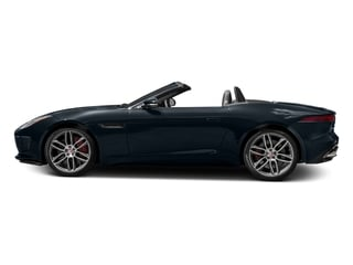 Dark Sapphire Metallic 2017 Jaguar F-TYPE Pictures F-TYPE Convertible 2D R AWD V8 photos side view