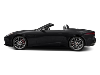 Ebony Black 2017 Jaguar F-TYPE Pictures F-TYPE Convertible 2D R AWD V8 photos side view