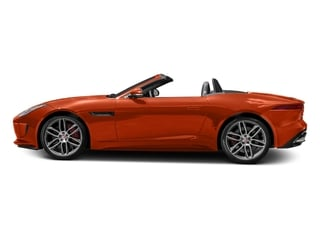 Firesand Metallic 2017 Jaguar F-TYPE Pictures F-TYPE Convertible 2D R AWD V8 photos side view