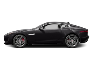 Ultimate Black Metallic 2017 Jaguar F-TYPE Pictures F-TYPE Coupe 2D S British Design Edit AWD photos side view