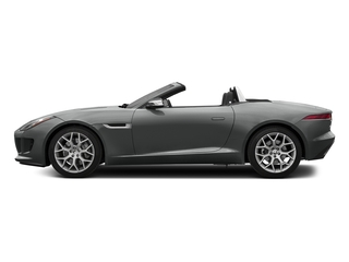 Ammonite Grey Metallic 2017 Jaguar F-TYPE Pictures F-TYPE Convertible 2D Premium V6 photos side view