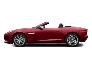 Italian Racing Red Metallic 2017 Jaguar F-TYPE Pictures F-TYPE Convertible 2D Premium V6 photos side view