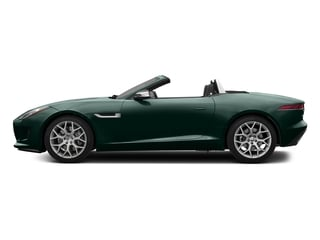 British Racing Green Metallic 2017 Jaguar F-TYPE Pictures F-TYPE Convertible 2D Premium V6 photos side view
