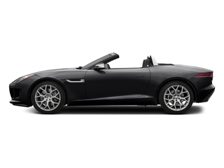 Ebony Black 2017 Jaguar F-TYPE Pictures F-TYPE Convertible 2D V6 photos side view