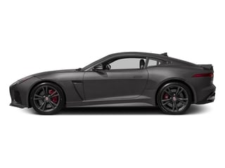 Ammonite Grey Metallic 2017 Jaguar F-TYPE Pictures F-TYPE Coupe Auto SVR AWD photos side view