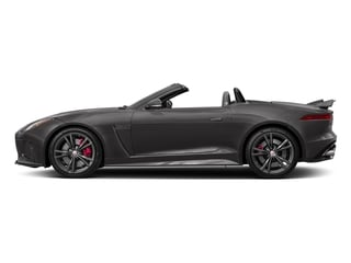 Ammonite Grey Metallic 2017 Jaguar F-TYPE Pictures F-TYPE Convertible 2D SVR AWD V8 photos side view
