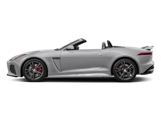 Glacier White Metallic 2017 Jaguar F-TYPE Pictures F-TYPE Convertible 2D SVR AWD V8 photos side view