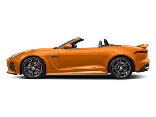 Firesand Metallic 2017 Jaguar F-TYPE Pictures F-TYPE Convertible 2D SVR AWD V8 photos side view