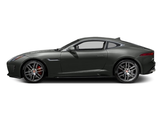 Ammonite Grey Metallic 2017 Jaguar F-TYPE Pictures F-TYPE Coupe 2D R AWD V8 photos side view