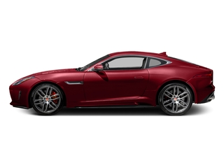 Italian Racing Red Metallic 2017 Jaguar F-TYPE Pictures F-TYPE Coupe 2D R AWD V8 photos side view