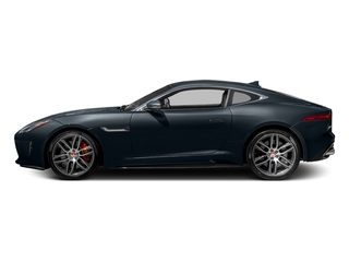 Dark Sapphire Metallic 2017 Jaguar F-TYPE Pictures F-TYPE Coupe 2D R AWD V8 photos side view