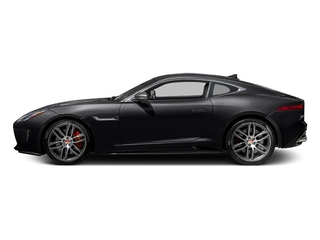 Ebony Black 2017 Jaguar F-TYPE Pictures F-TYPE Coupe 2D R AWD V8 photos side view