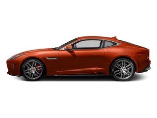 Firesand Metallic 2017 Jaguar F-TYPE Pictures F-TYPE Coupe 2D R AWD V8 photos side view