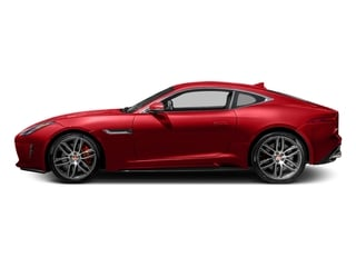 Caldera Red 2017 Jaguar F-TYPE Pictures F-TYPE Coupe 2D R AWD V8 photos side view