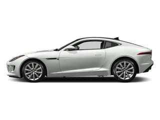 Polaris White 2017 Jaguar F-TYPE Pictures F-TYPE Coupe Auto photos side view