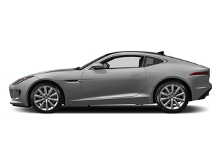 Rhodium Silver Metallic 2017 Jaguar F-TYPE Pictures F-TYPE Coupe Auto photos side view