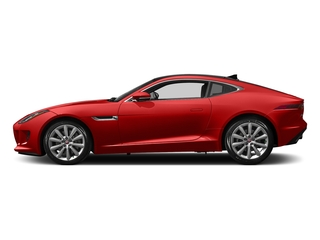 Caldera Red 2017 Jaguar F-TYPE Pictures F-TYPE Coupe Auto photos side view
