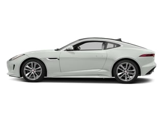 Polaris White 2017 Jaguar F-TYPE Pictures F-TYPE Coupe 2D S AWD V6 photos side view