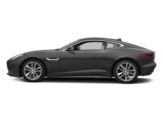 Ammonite Grey Metallic 2017 Jaguar F-TYPE Pictures F-TYPE Coupe Auto S AWD photos side view